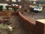 brick wall..